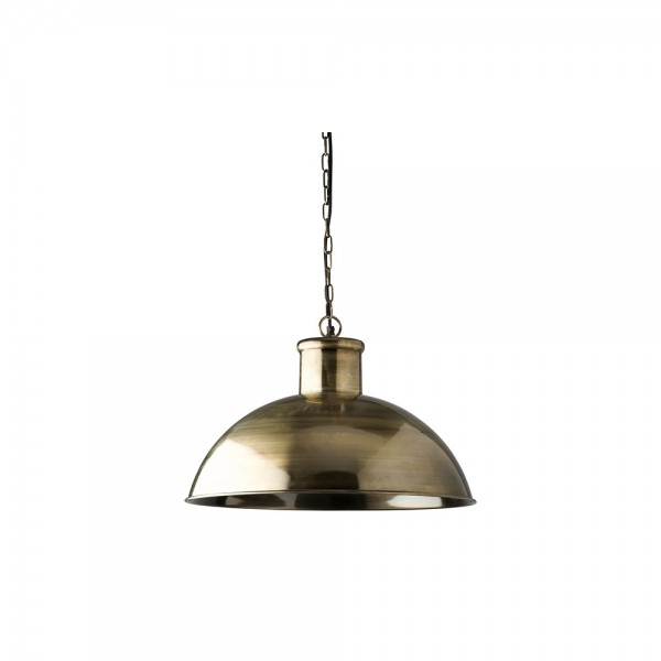 Culinary Concepts CC-HLI-AB Antique Brass Finish Spitalfield Pendant Light