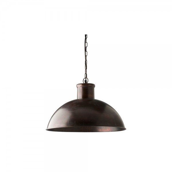 Culinary Concepts CC-HLI-AC Antique Copper Finish Spitalfield Pendant Light