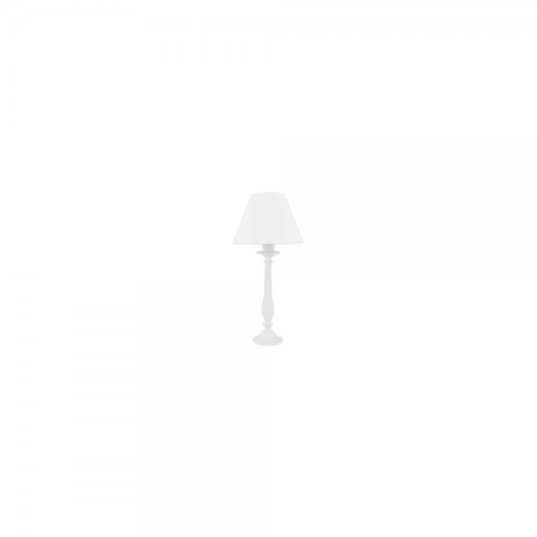 Searchlight 1108WH Candle Sticks White Table Lamp with Shade (Pair)