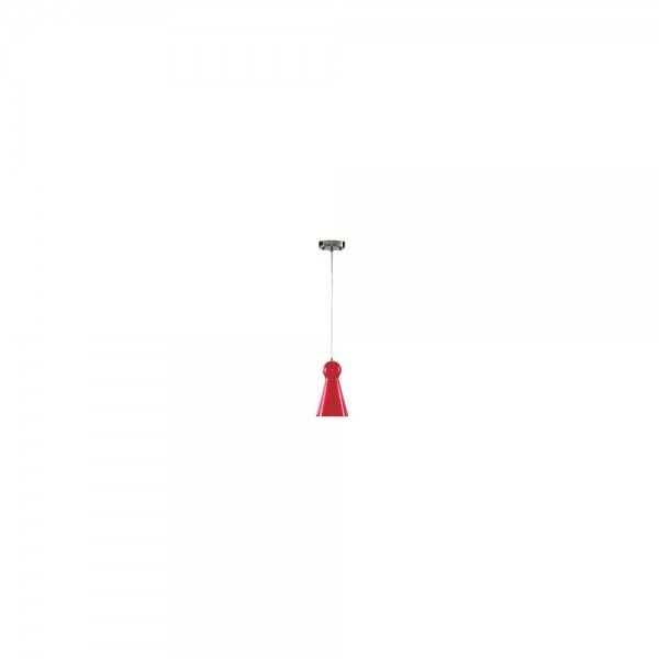 Searchlight 1440RE Skittle Red Glass Pendant Light