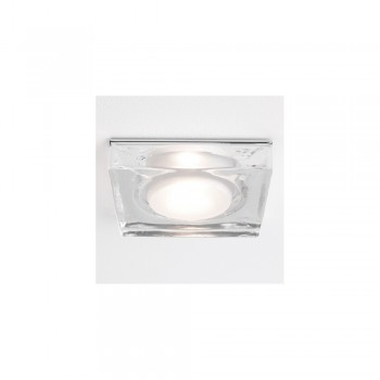 Astro Lighting 1229004 Vancouver Square 12v Glass Bathroom Downlight