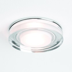 Astro 1229003 Vancouver Round 230v Glass Bathroom Downlight