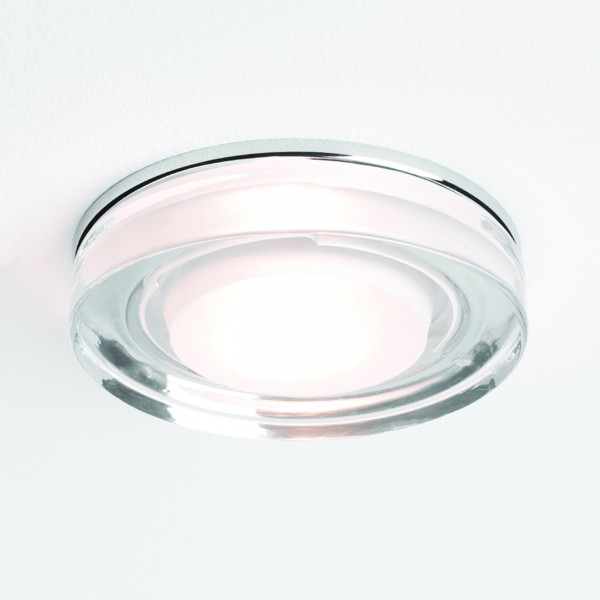 Astro Lighting 1229003 Vancouver Round 230v Glass Bathroom Downlight