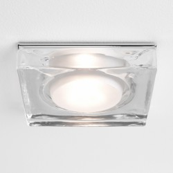 Astro 1229004 Vancouver 230v Glass Bathroom Downlight