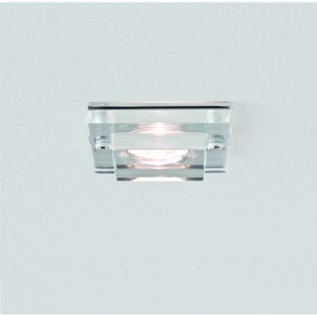 Astro Lighting 5582 Mint Square LED Glass Bathroom Downlight