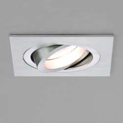 Astro 1240012 Taro Adjustable 230v Brushed Aluminium Downlight
