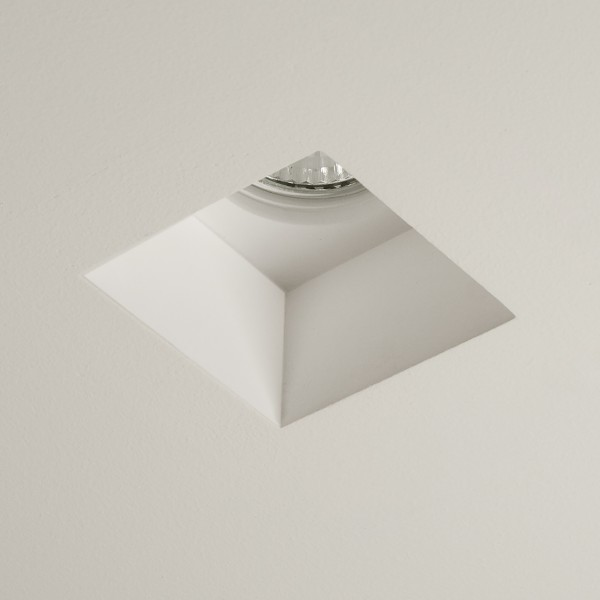 Astro 1253002 Blanco Square Recessed Plaster Downlight