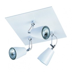 Astro Lighting 1258002 Polar Triple White Spotlight
