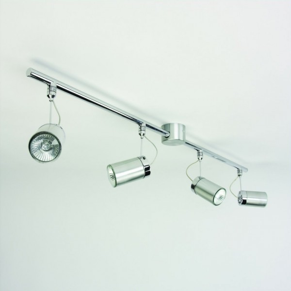 Astro Lighting 1259004 Montana Four Tube Brushed Aluminium Spotlight