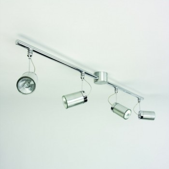 Astro Lighting 1259004 Montana Four Tube Brushed Aluminium Spotlight