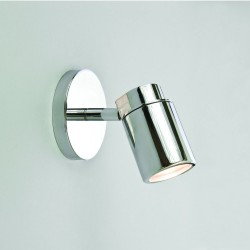 Astro Lighting 1282001 Como Single Polished Chrome Spotlight