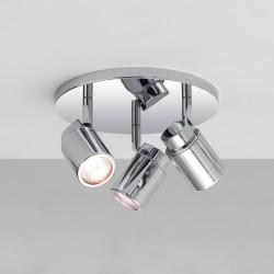 Astro Lighting 1282002 Como Triple Polished Chrome Bathroom Spotlight