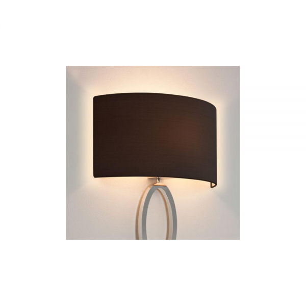 Astro Lighting 5026002 Lima Black Fabric Curved Shade