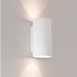 Astro Lighting 1287002 Bologna 240 White Plaster Up and Down Wall Light
