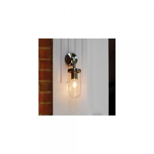 Astro Lighting 1193003 Tressiono Polished Nickel Exterior Wall Light