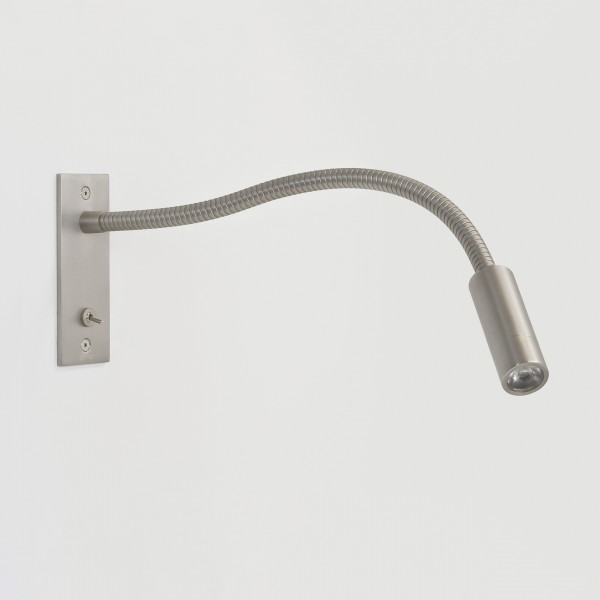 Astro 1295002 Leo LED Switched Matt Nickel Adjustable Wall Light