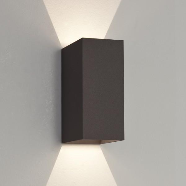 Astro 1298002 Oslo 160 Black Exterior LED Wall Light