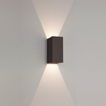 Astro Lighting 7061 Oslo 160 Black Exterior LED Wall Light