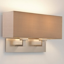 Astro Lighting 1080020 Park Lane Grande Twin Matt Nickel Wall Light