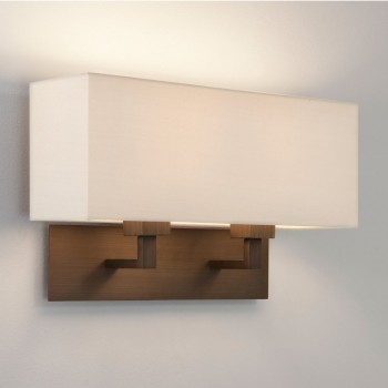 Astro Lighting 1080021 Park Lane Grande Twin Bronze Wall Light