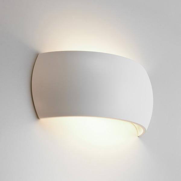 Astro 1299001 Milo White Ceramic Interior Wall Light