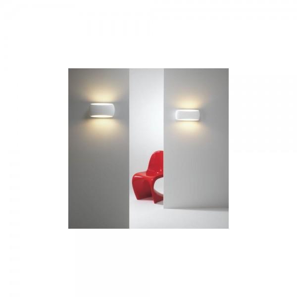 Astro Lighting Aria 300 1300001 White Plaster Interior Wall Light
