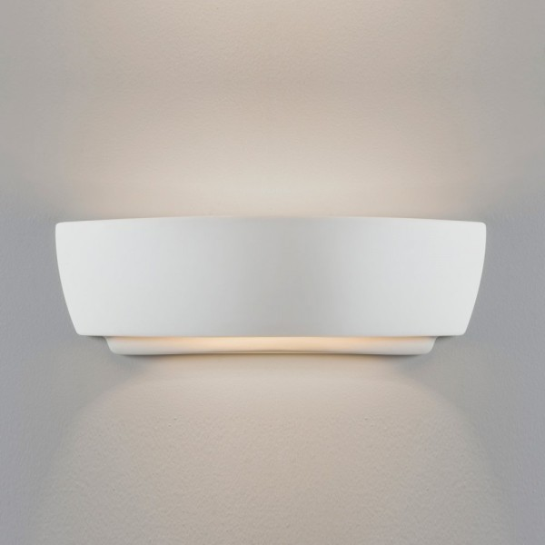Astro Lighting Kyo 1301001 White Ceramic Interior Up and Down Wall Light