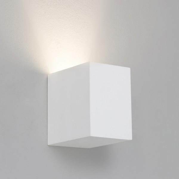 Astro Parma 110 1187009 White Plaster Interior Wall Light