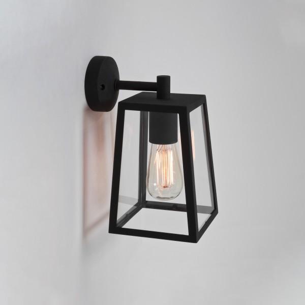 Astro 1306001 Calvi Black Exterior Modern Wall Lantern