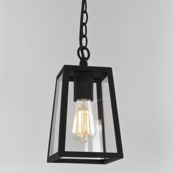 Astro Lighting 1306003 Calvi Outdoor Black Pendant Light