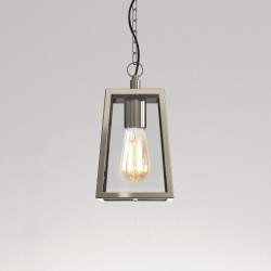 Astro 1306004 Calvi Polished Nickel Exterior Pendant Light