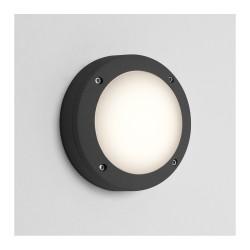 Astro Lighting 1309009 Arta 150 Round Textured Black Exterior Wall Light