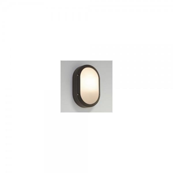 Astro Lighting 1309008 Arta Oval Black Bulkhead Light