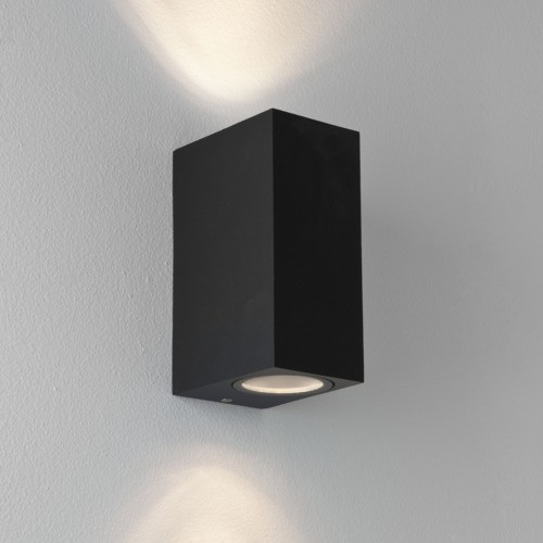 Astro Lighting 1310004 Chios 150 Up & Down Black Exterior Wall Light