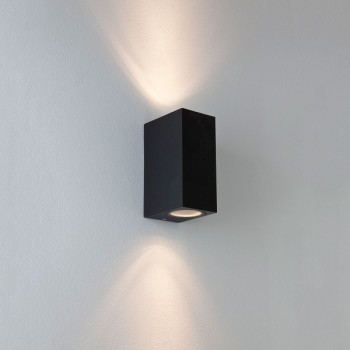 Astro 1310004 Chios 150 Up & Down Black Exterior Wall Light