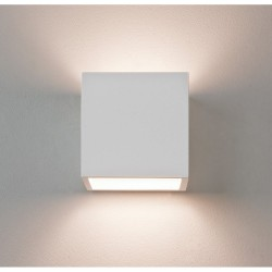 Astro Lighting 1196003 Pienza 165 White Plaster Interior Wall Light
