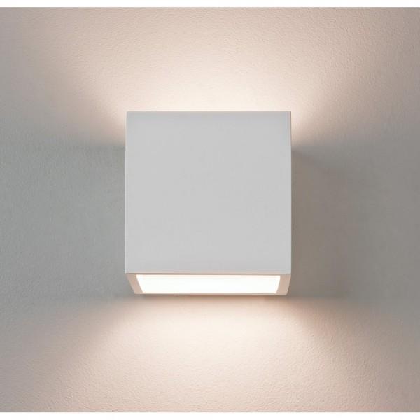 Astro Lighting 1196003 Pienza 165 White Plaster Interior Wall Light