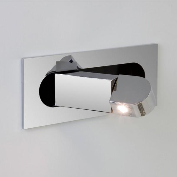 Astro Lighting 1323001 Digit LED Chrome Adjustable Wall Light
