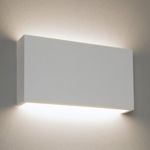 Astro Rio 325 1325001 White Plaster Dimmable Wall Light