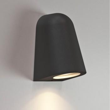 Astro Lighting 1317002 Mast Black Finish Wall Downlight