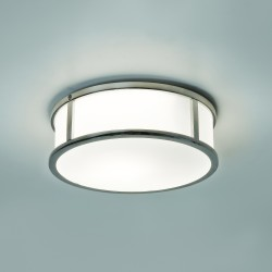 Astro 1121021 230 Mashiko Round Polished Chrome Ceiling Light