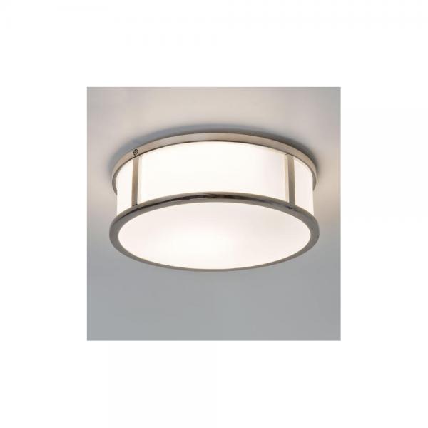 Astro Lighting 1121021 230 Mashiko Round Polished Chrome Ceiling Light