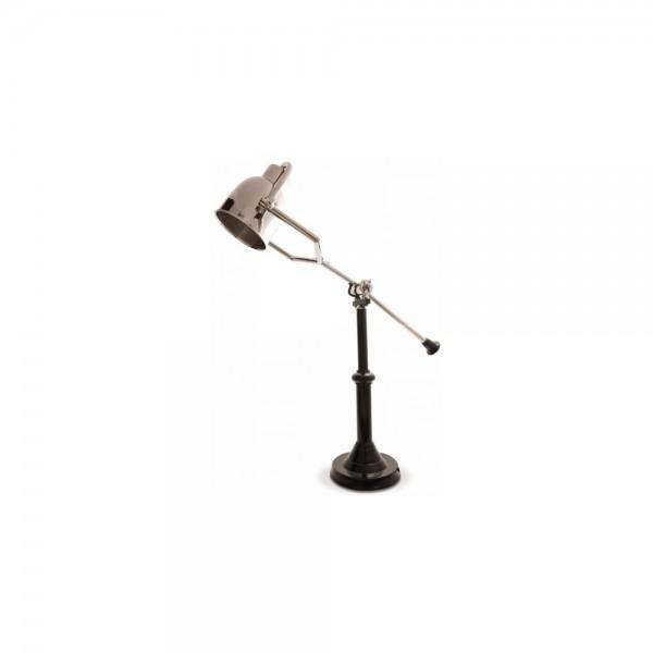 Adjustable Black Reading Lamp PM-10582-NB