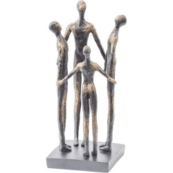 Libra 337571 Family Circle Resin Sculpture