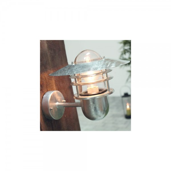 Nordlux Agger 74481031 Galvanized Wall Light