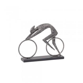 Libra 357016 Abstract Cyclist Sculpture