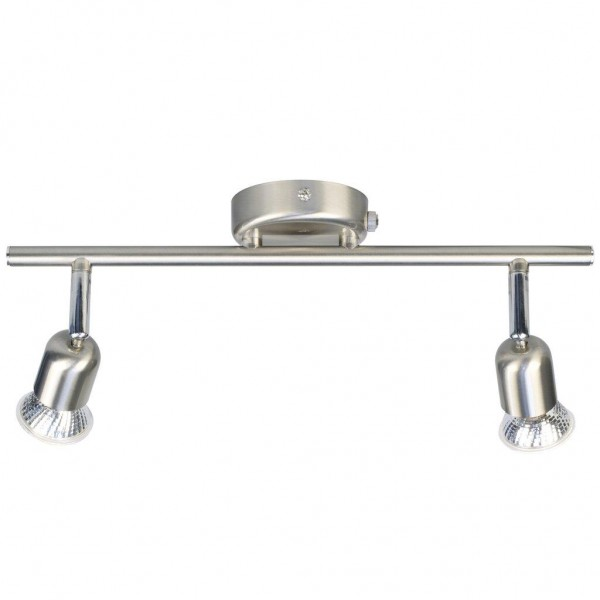 Nordlux Avenue 73561132 Brushed steel Double wall Light