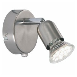 Nordlux Avenue LED 76551132 Brushed Steel Wall Light