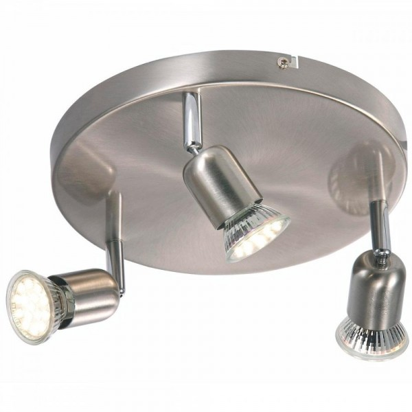 Nordlux Avenue LED 76560132 Brushed Steel Ceiling Light