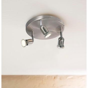 Nordlux Avenue LED 76560132 Brushed Steel Ceiling Light